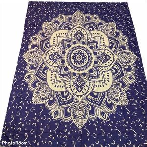 Tapestry Mandela Purple and Taupe Zamat New
